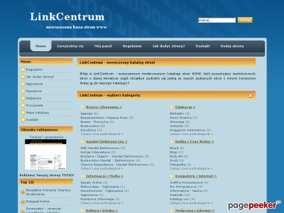 LinkCentrum - katalog seo