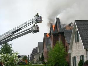 pożar i postępowanie